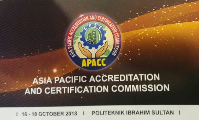 ASIA PACIFIC ACCREDITATION & CERTIFICATION COMMISSION (APACC) 2018